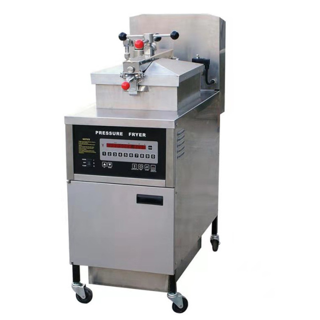 Pfe-800 25l Commercial Electric Pressure Fryer ( Digital Panel) Food Chicken Fryers With Oil Filter Easy To Clean Fryer