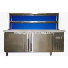 2016 Hot Sale Stainless Steel Bar Operation Counter Commercial Refrigerated Refrigerator Prep Counters