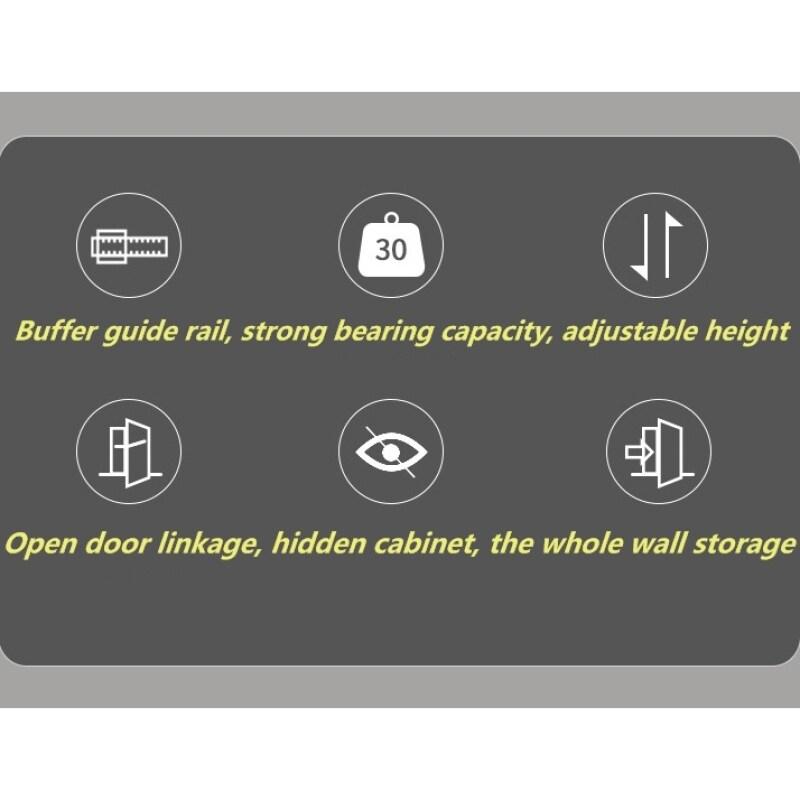 High Cabinet Pull Basket 4-tier Kitchen Open Door Storage Holders & Racks Multi-layer Cabinet Built-in Shelf/ Rack