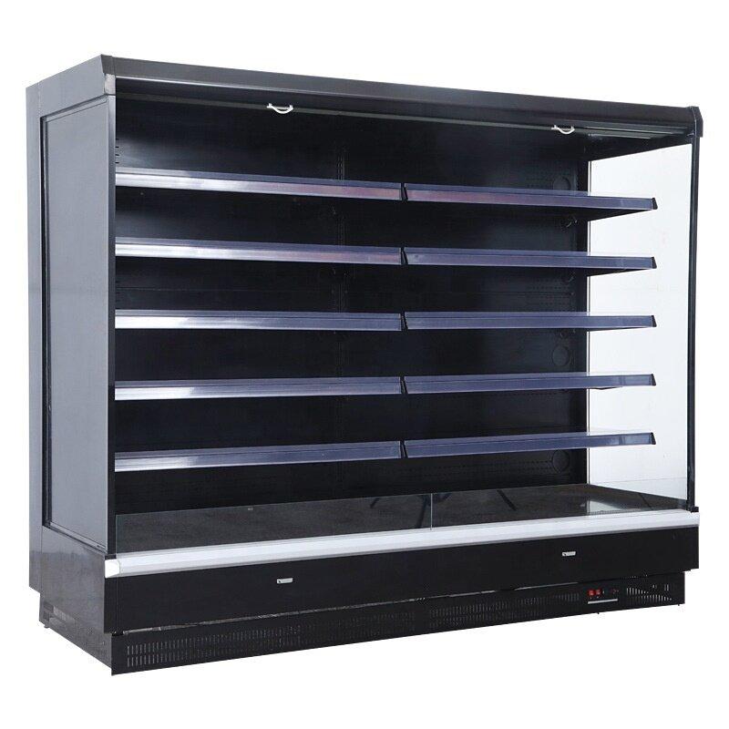 2500mm Remote Compressor Refrigeration Equipment Fruit Fridge Refrigerator Freezer 5 Layer Style