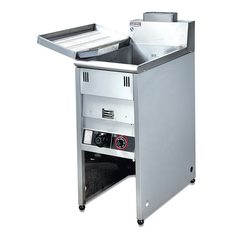 GF-3G 25L KFC Gas Fried Chicken Fryer Open Fryer With Best Quality Frying Machine Freestanding Safety Gas Fried Chicken Fryer