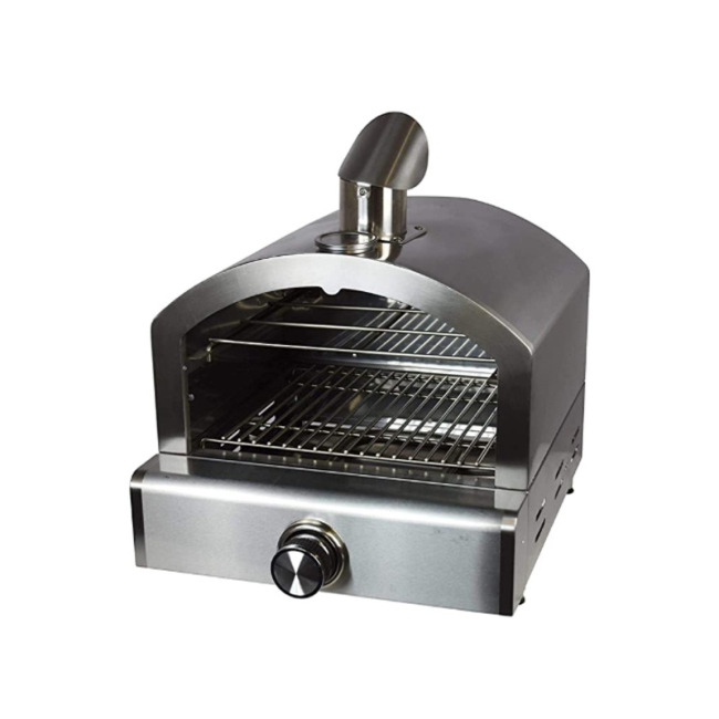 Stainless Steel Hot Selling Small Camp Baking Oven Metal LPG  gas Fire Pizza Oven