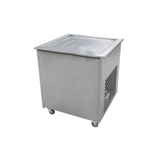 2018 new design Round Square Fried Ice Pan Cream fryer Machine