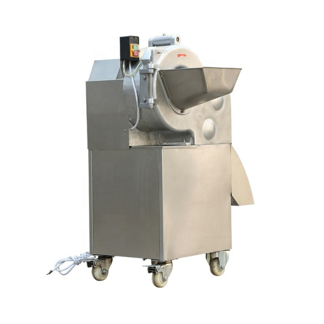 High Quality Copper Core Motor Multi-Function Vegetable Cutter Dicing Machine for Rhizome Fruits Vegetables