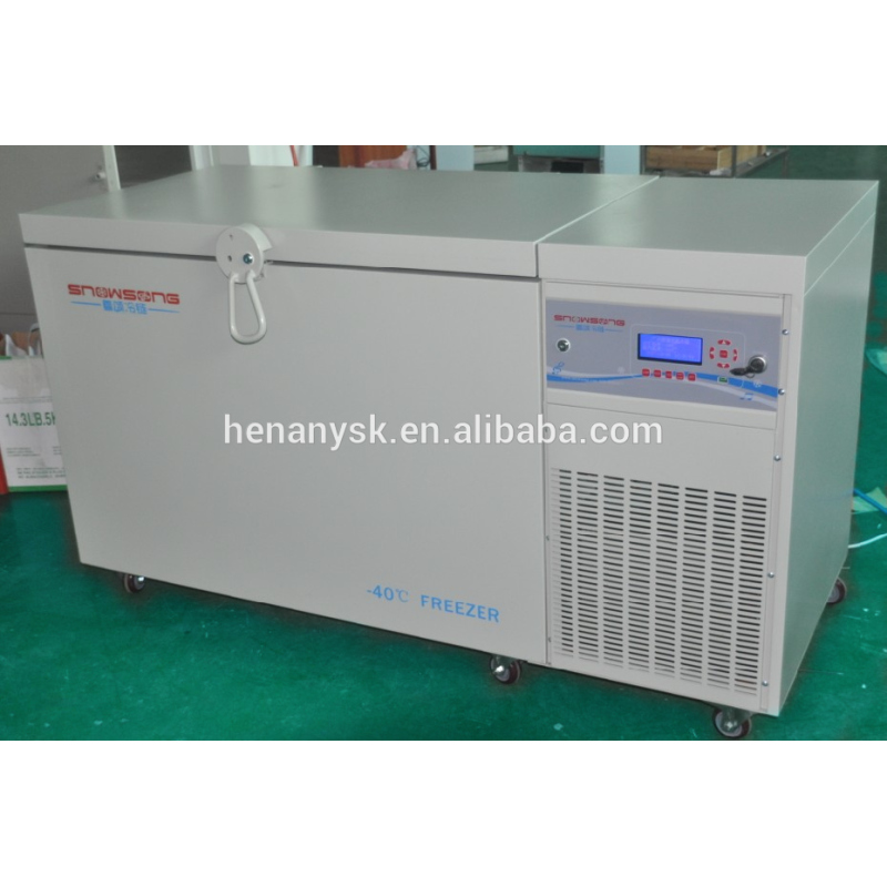 CE ISO High Quality Horizontal Deep Fridge Freezer for Lab Vertical 205L 305L 405L Laboratory Deep Freezer