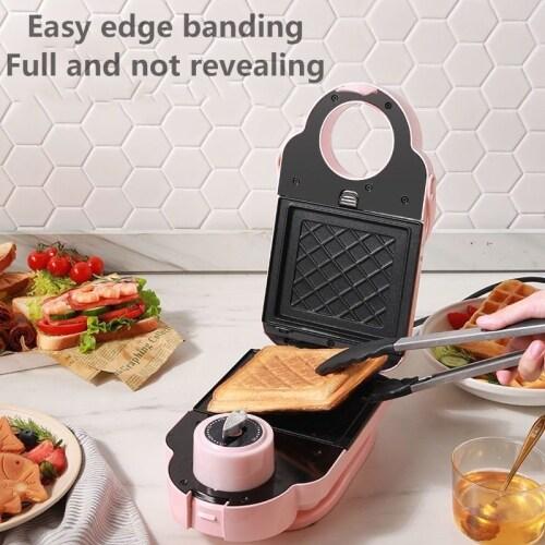 Sandwich Machine Breakfast Light Food Machine Clip Waffle Multifunctional Pot Doughnut Bread Machine Household