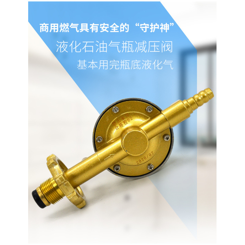 2.8K pa High Quality Middle pressure Gas Regulator Valve Copper 2800pa