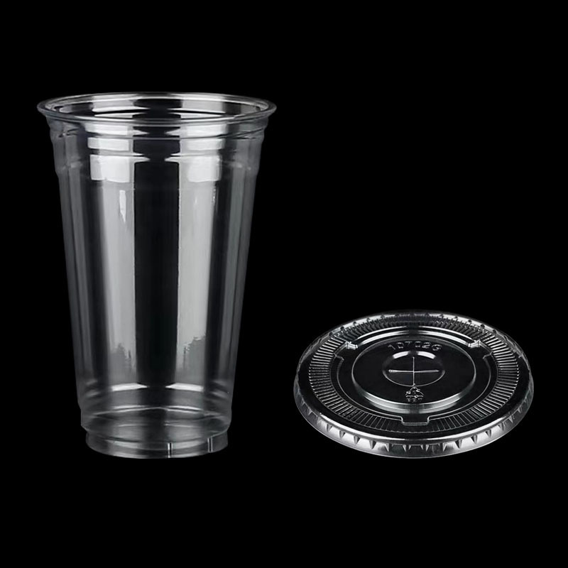 2000pcs 22kg PET 10g Plastic Disposable Cup frozen Cold Drinks Cups Hot and Cold
