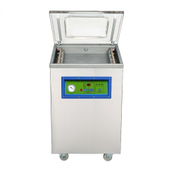 DZ-510S Stainless steel Vertical Single Chamber Tea packing machine Meat Pump Packing Vacuum Sealer Machine