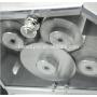 L100B 4 Roller Sugarcane Extractor Sugar Cane Crusher Electric Manual Juicer