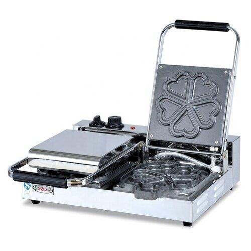 2018 Hot Sale Commercial Stainless Steel Heart Shape Waffle Baker EG-5A-2