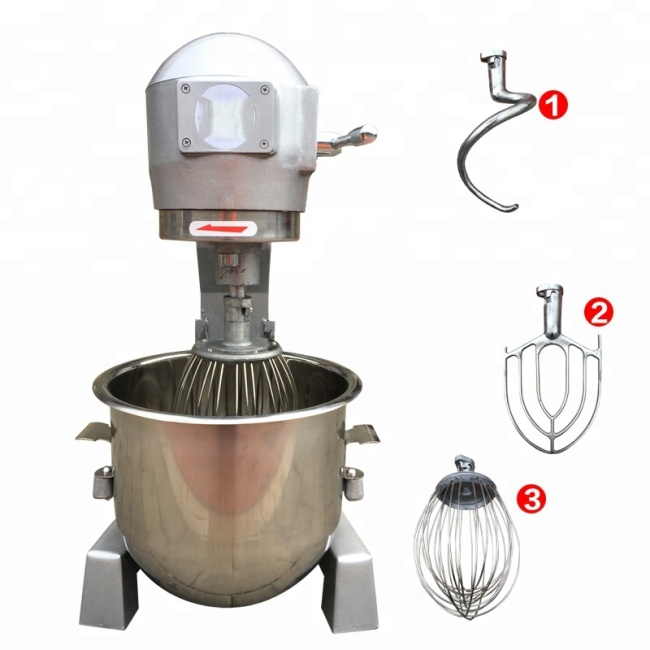 20L Flour Dough Mixer / Egg Blender Food Mixers
