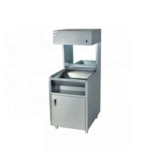 KFC Vertical Type French Fries Chip Warmer Chips Worker Cabinet Fast Food Equipment Showcase