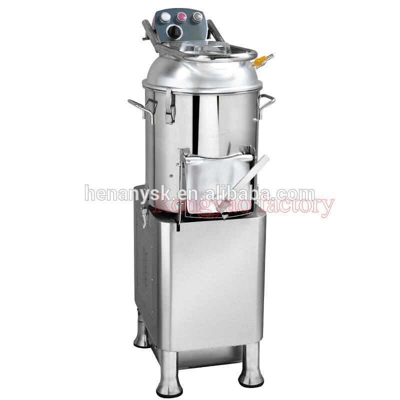 HLP-15 Stainless Steel Commercial Potatoes Peeling Peeler Washing Machine
