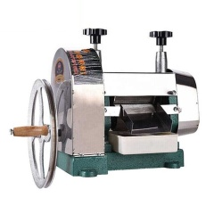 Máquina extractora de exprimidor de caña de azúcar manual de venta caliente, máquina exprimidora de caña de azúcar portátil