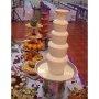 5 layers Hotel New DIY Chocolate Fountain Three Layers Creative Design Chocolate Melt With Heating Fondue Machine