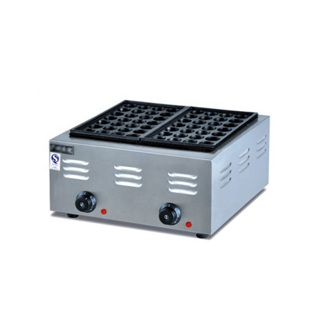 EH-767 2 plates Commercial Electric Takoyaki Maker Machine Fish Grill Machine
