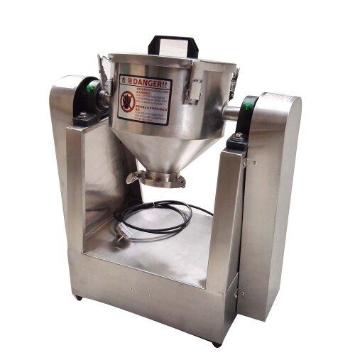 1kg 2kg 5kg 10kg 20kg 100kg/Time Small Industrial Dry Powder Food Material Mix Capsules Food Flour Granule Mixer Machine