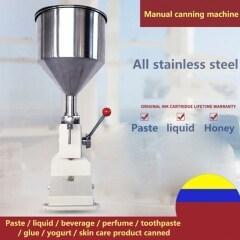 A03 Manual Paste Filling Machine Small Quantitative Liquid Perfume Essential Oil Honey Bottle Filling Machine
