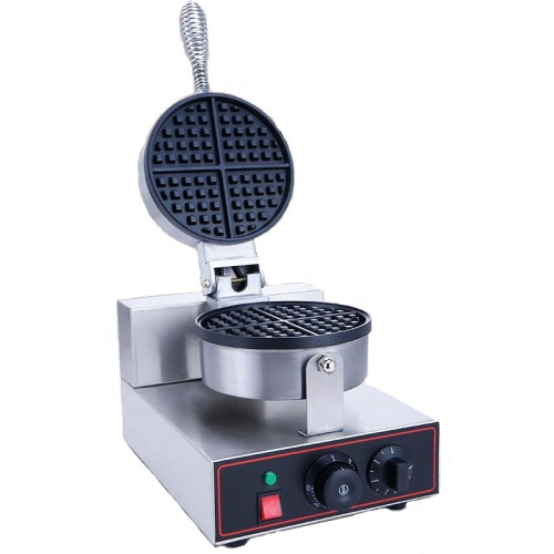 Newly Designed 220v 1 Head Heart Shape Electric Industrial Making Commercial Waffle Maker Machine