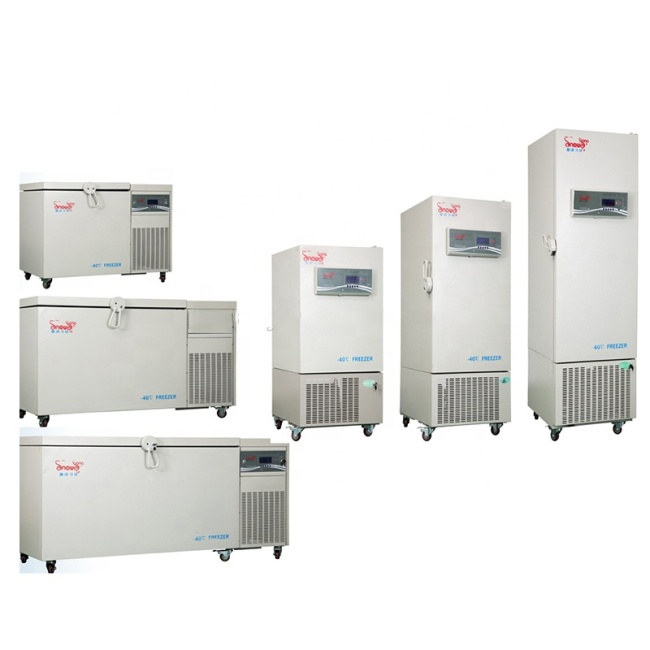 CE Certified -10~-40 Degree Deep Freezer Chest Freezer Laboratory Refrigerator Freezer