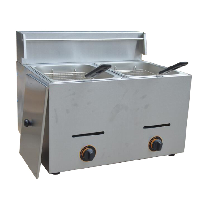 20L 2 TANK Gas fryer popular selling