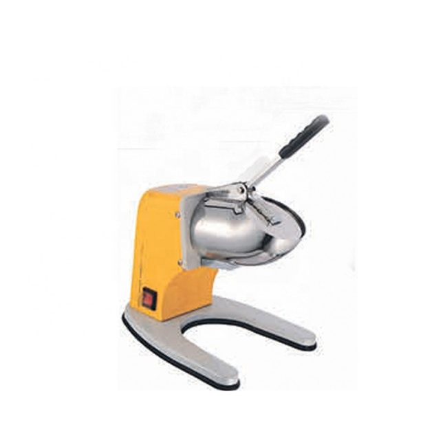 IS-ZY-SB100 Yellow Electric Hand Ice Crushers for Home Use Hand Ice Crusher for CE