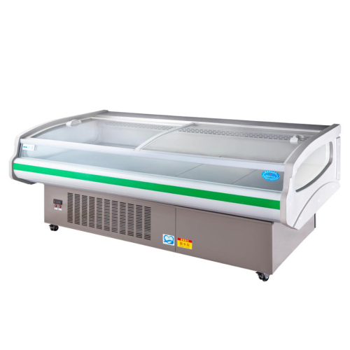 High Efficiency Energy Saving Large Fresh Meat Cooler Machine Deli Cooler Showcase