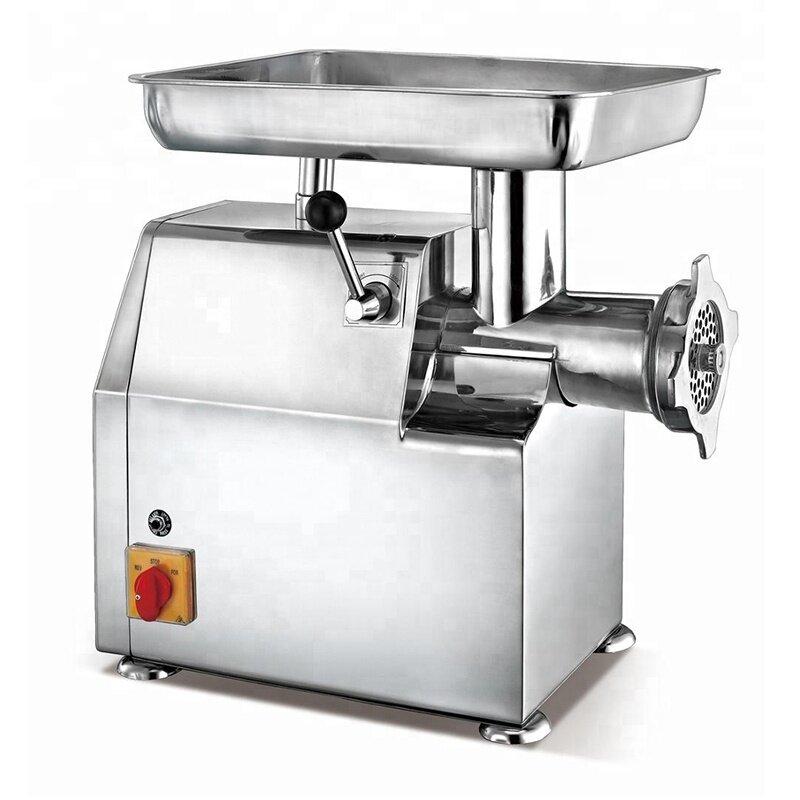 32 42 hot selling Stainless Steel Commercial Sausage Stuffer Pepper Mincer Electric Meat Mincer Grinder