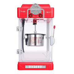 New Automatic Popcorn Machine Commercial Household Small Electric Popcorn Maker Machine Ball Type Non Stick Pot