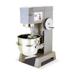 50L=25KG Stainless Steel Multi Functional Dough Egg Flour Mixer