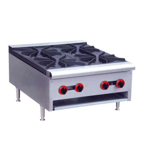 GH-4 China High Quality Cast Iron Wok Counter Gas Cooktop