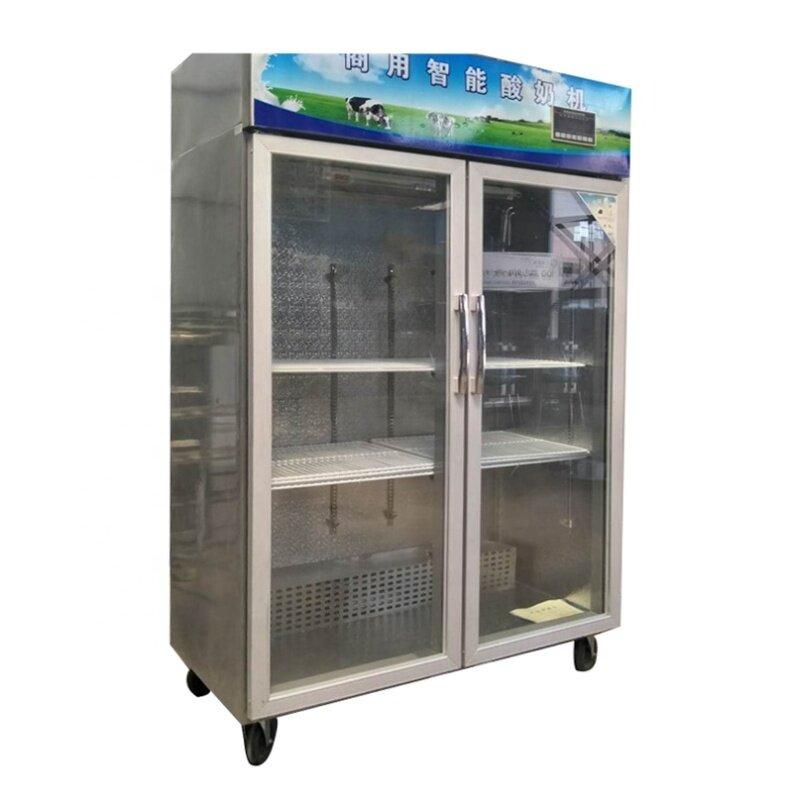 Commercial Double 1 / 2 Door Intelligent Yoghurt Making Processing Machines Yogurt Fermentation Tank Showcase Room