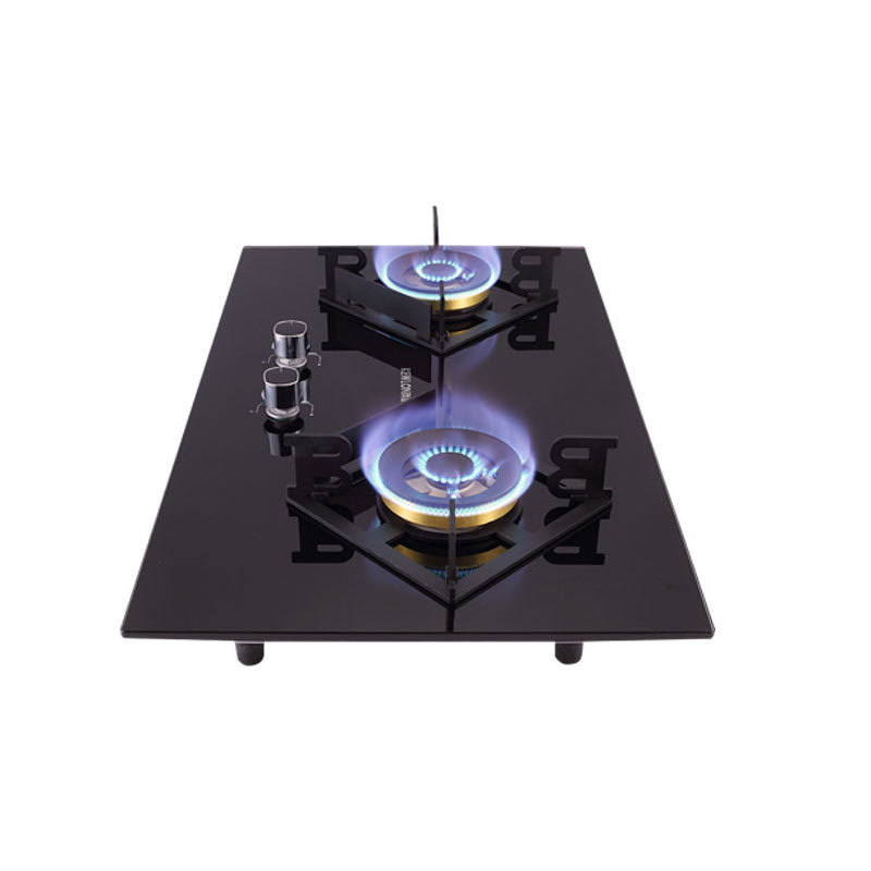 03s Gas Stove Double Stove Big Firepower New Energy-saving Fierce Fire Stove Gas Cooker 2 Burner Table Embedded Dual-use