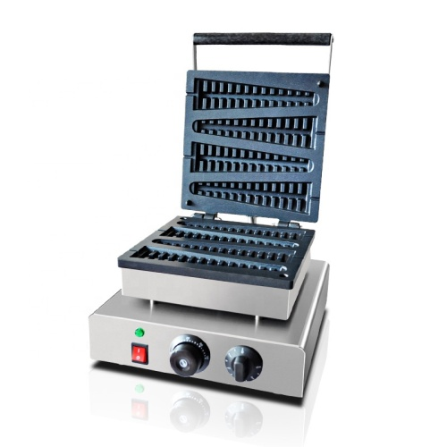 Aluminum Molds Sticks Special Commercial Portable 8 4 Slice Lolly Pine Waffle Maker Lolly Making Baking Machine Price