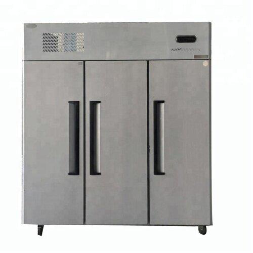 Commerical Freeezer at -5~-18 C 3 Big Doors Vertical Kitchen Freezer Cooler Refrigerator