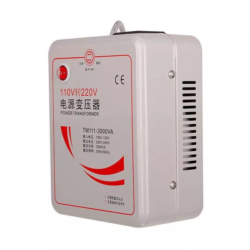 110v-220v-3000w Power Electric Transformer 110v to 220v Power Supply