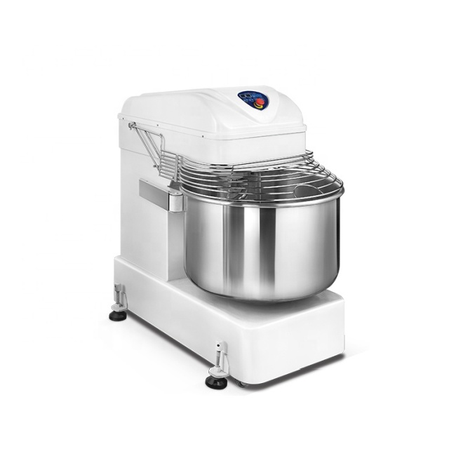 130L Flour Mixer Easy Operation High Efficiency Energy-Saving Electric Spiral 2 Speed Dough Flour Mixer Mixing Machine
