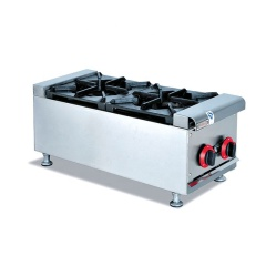 LPG Gas Range 2 Burners Furnace Boiler Pot Cooking Cooktops For Sale