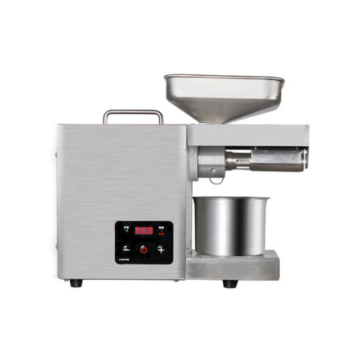 22S Stainless Steel Mini Oil Press Machine Plant Automatic Screw Temperature Control Cold And Hot Pressing Of Peanut And Sesame