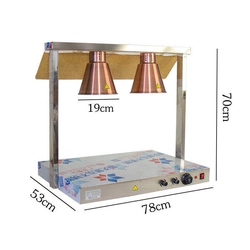Diy 4 Head Universal Food Heat Lamps Food Warming Lamp