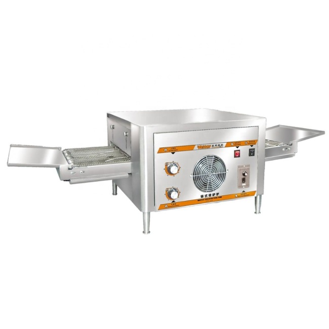 12 Inch Household Crawler Commercial Intelligent CNC Conveyor Electric Pizza Oven