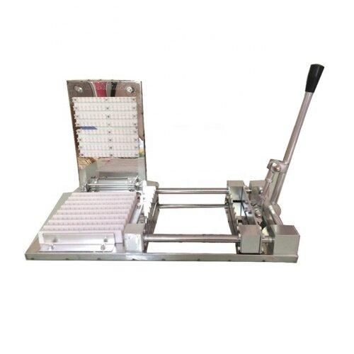 High Efficiency Hot Fast Food Manual Meat Satay Skewer Machine Doner Kebab Machines Lamb String Skewers