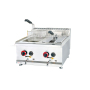 14L/Tanks*2 Stainless Steel Baskets Industrial Professional KFC LPG Gas Double 2 Fryers for French Potato Chips