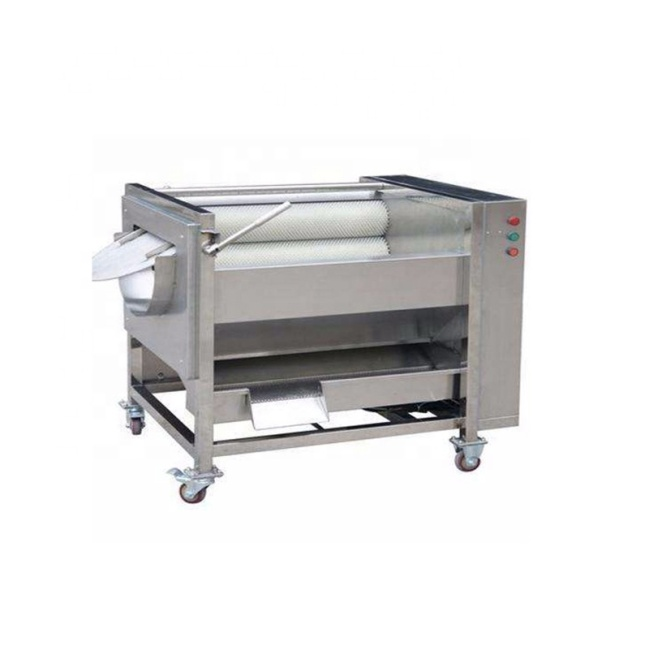 0.8~1.2T/H Industrial Peeling Machine Vegetable Ginger Processing Machine Multi Function Peeler