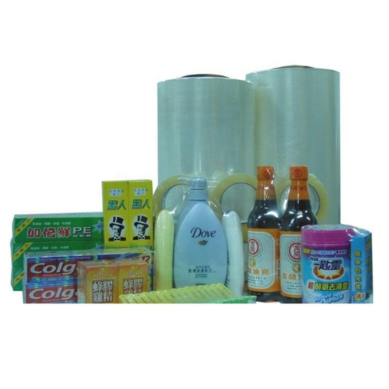 Quality Chinese Products Plastic Non-Cellular Pof stretch Film Rolls Heat Shrink Film for Food Packaging