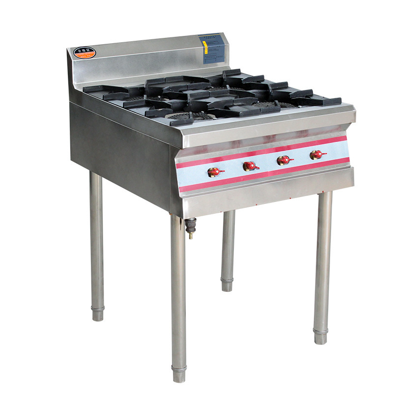 4 /6 /8 Head Gas Burner Stove Cooktop Gas Cooker Freestanding Type LPG/Natural Gas Burners For Home / Restaurant