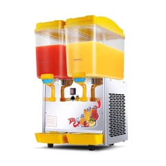 PL-234A Double Warmer / Cold 2 Flavor Soft Cold Drink Juice Dispenser Machine