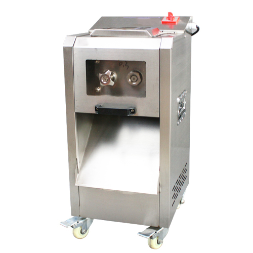Automatic Industrial Lamb Cube Dicer Cut Thin Fresh Cooks Portable Meat Slicer Grinders Mincer Machine