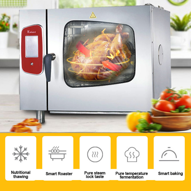 Barbecue Oven Japanese Electric Gas LPG Natural gas Steaming Combi Oven Multi-functioinal Bakery Ovens